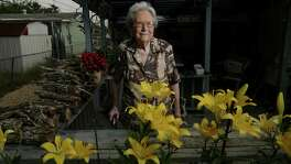 Irene Bordelon Smith, whose brother-in-law, Marine Private George O. Smith, saw action on Tarawa and Guadalcanal during World War II, lives with her son, Michael, in a modest West San Antonio home. She is also the first cousin of Staff Sgt. William J. Bordelon, who won the Medal of Honor, was also from San Antonio, and also served on Tarawa.