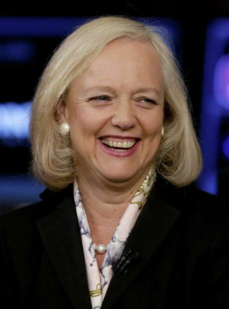 Meg Whitman made $35.6 million as chief executive of Hewlett Packard Enterprise, a technology company. That is more than double the $17.1 million she made a year earlier before Hewlett-Packard, split in two. Photo: Associated Press /File Photo / Copyright 2016 The Associated Press. All rights reserved. This material may not be published, broadcast, rewritten or redistribu
