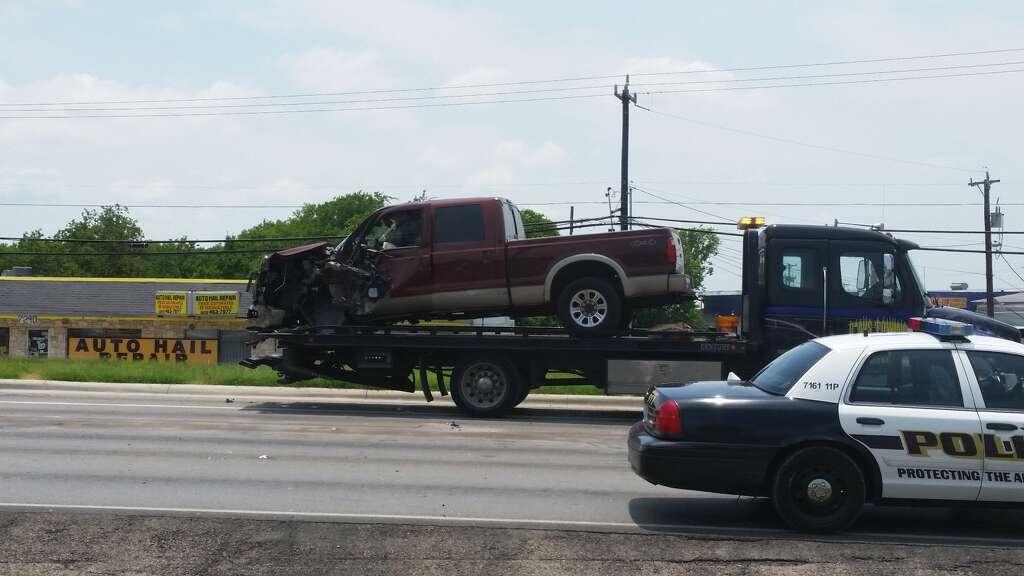 stoplight wreck