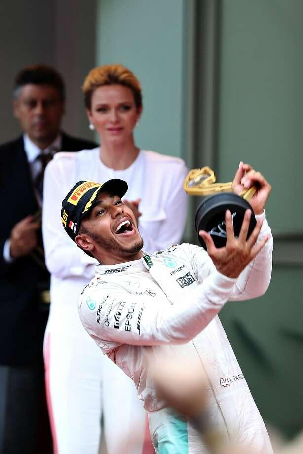 Lewis Hamilton's Monaco win was his first of the season. Photo: Mark Thompson, Getty Images