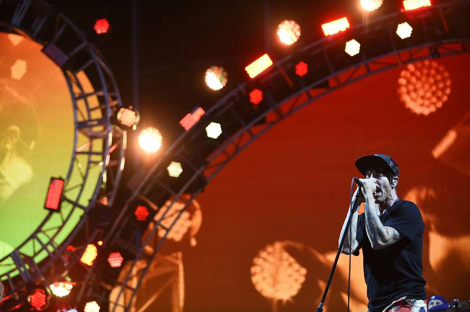 The Red Hot Chili Peppers perform as the final headliner at BottleRock 2016 in Napa, Calif. on Sunday, May 29, 2016. Photo: Michael Noble Jr., The Chronicle