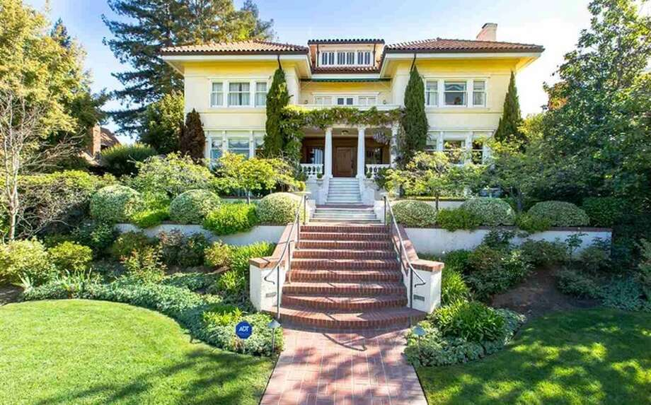 The Ghirardelli Chocolate Mansion in Piedmont, California is on the market.  www.toptenrealestatedeals.com Home fit for a chocolatier. Photos: RMLS