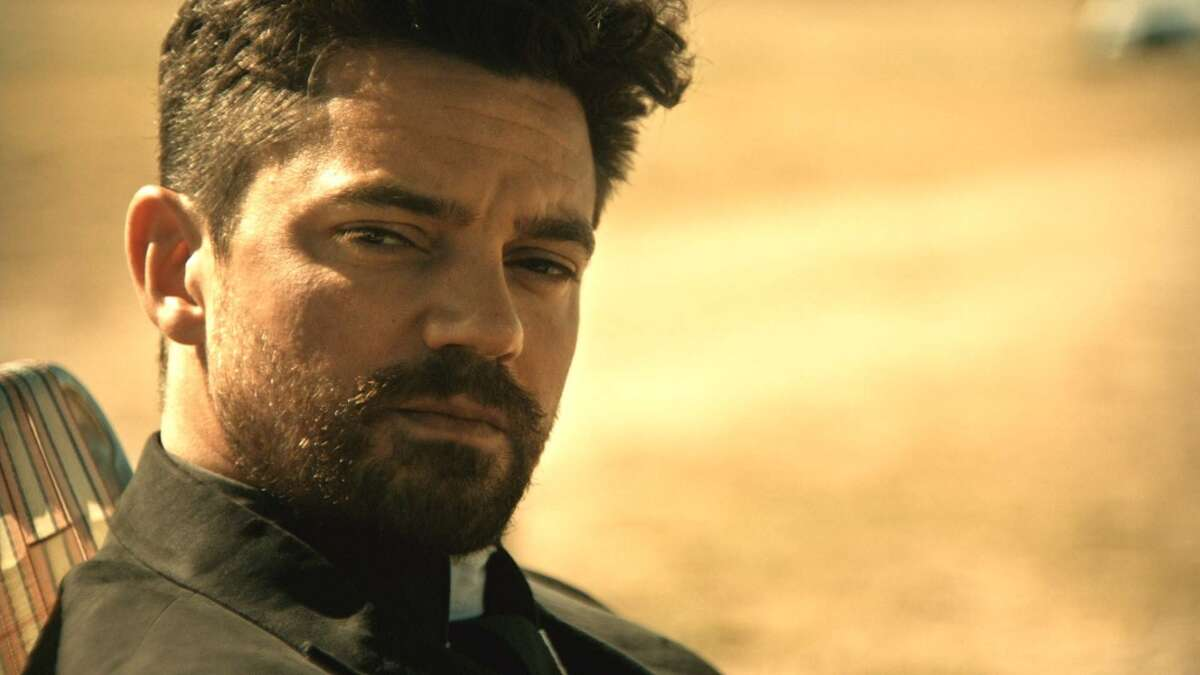 """""""Preacher"""" AMC does offer some of the episodes free on their website, AMC.com, although most of the available full episodes require a cable login. Sling TV, one of the most popular live-stream services is an inexpensive option allowing you to watch AMC shows as they air on cable. You could also watch the live stream through Playstation Vue."""