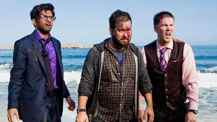 Wrecked:  A plane full of strangers crashes on a deserted island ... and hijinks ensue! Think of it as the comedy version of 'Lost.' It debuts on TBS on Tuesday, June 1.