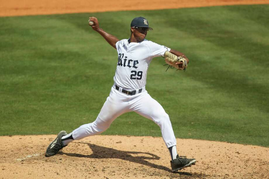 Rice's Jon Duplantier said the Owls relish the challenge of going to Baton Rouge and playing in this week's LSU regional. Photo: James Pugh, Associated Press / The Laurel Chronicle