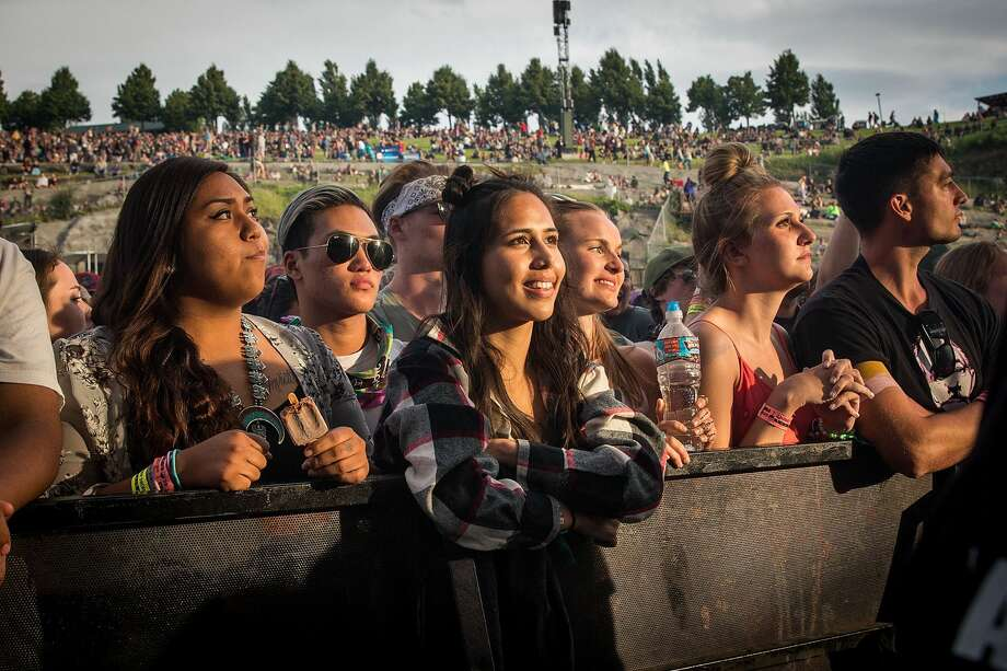 GEORGE, WA - MAY 28:  Fans enjoy the Sasquatch Music Festival at the Gorge Amphitheatre on May 27, 2016 in George, Washington.  (Photo by Suzi Pratt/WireImage) Photo: WireImage