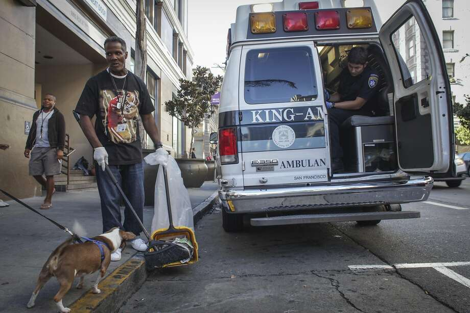 Housing San Francisco's homeless will initially be costly but will substantially cut costs for emergency care visits, mental health services, welfare and food stamps, the city's budget analyst says. Photo: Sam Wolson, Special To The Chronicle