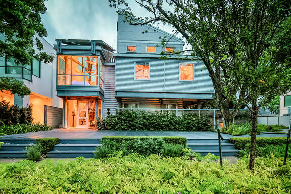 Houston's first LEED Platinum home is on the market for $2.695 million. It's at 3319 Virginia St.