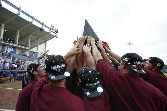 After winning its first Southeastern Conference baseball title over the weekend, Texas A&M now sets its sights set on a higher goal - a national championship.