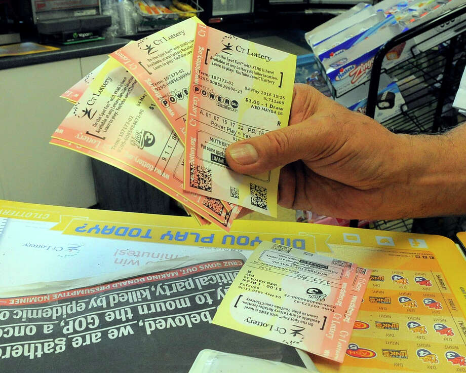 An unclaimed $1 million Powerball ticket sold in Fairfield County for the Dec. 5, 2015 drawing ticket expired on Thursday, June 2, 2016. Photo: Matthew Brown / Hearst Connecticut Media / Stamford Advocate
