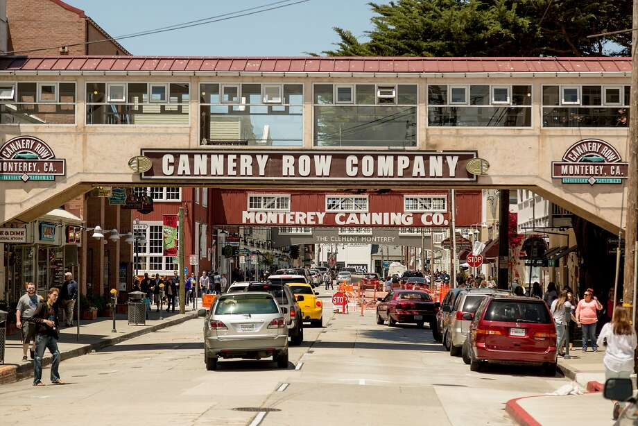 People visit Cannery Row in Monterey on May 24. A homicide was reported in the area early Wednesday — the first there in 25 years. Photo: Jason Henry, Special To The Chronicle