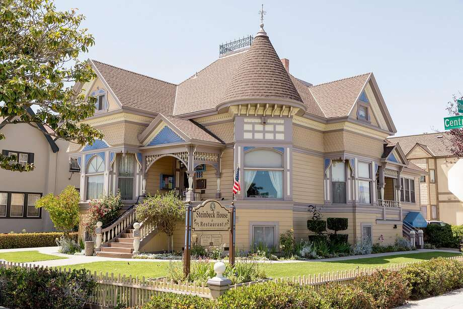 The Steinbeck House, an 1887 Queen Anne Victorian in Salinas, is where the author was born in the front bedroom in 1902. Photo: Jason Henry, Special To The Chronicle