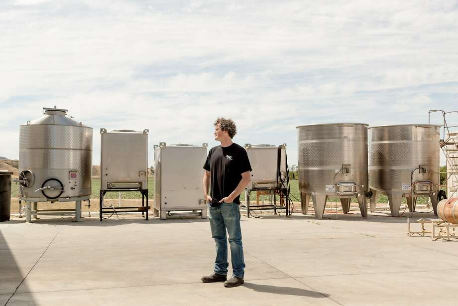 Denis Hoey at the Odonata winery in Salinas. Photo: Jason Henry, Special To The Chronicle