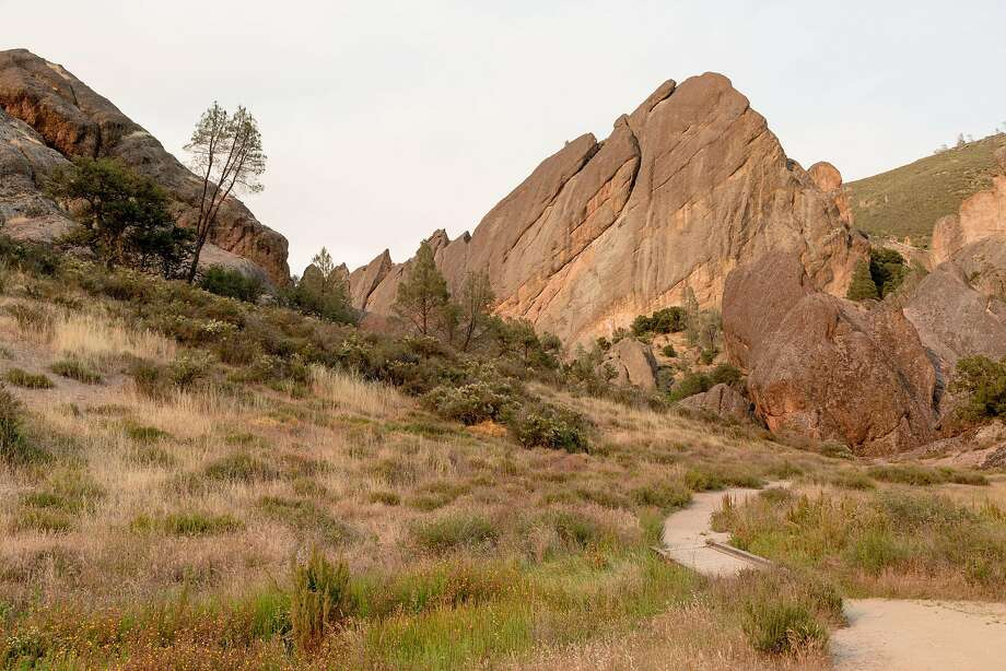 The Balconies Cave Trail winds through the west side of Pinnacles National Park near Soledad. Photo: Jason Henry, Special To The Chronicle