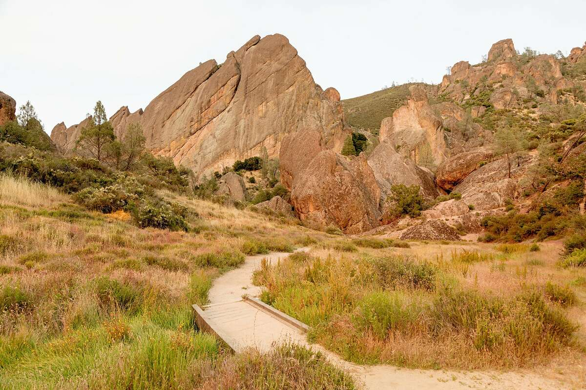 PLACES EVERY CALIFORNIA KID MUST SEE Pinnacles National Monument, Soledad: Hike the trail to Balconies Cave.