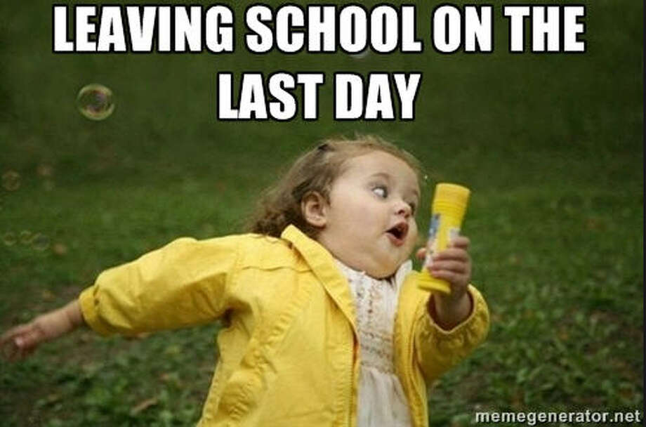 The end of the school year is near and these memes sum up perfectly how you feel about it. Like this one from MemeGenerator Photo: MemeGenerator
