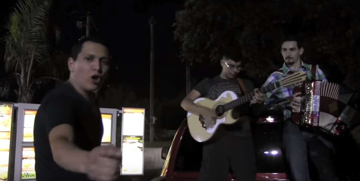 A Roma, Texas group has made an art of serenading Whataburger employees with