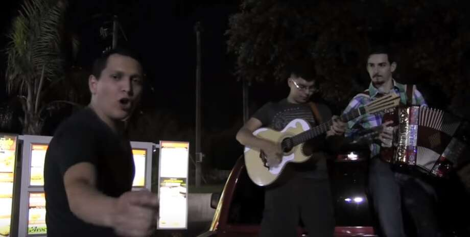 "A Roma, Texas group has made an art of serenading Whataburger employees with ""corridos"" of their orders. They recently gained viral attention via a Facebook share on May 29, 2016."