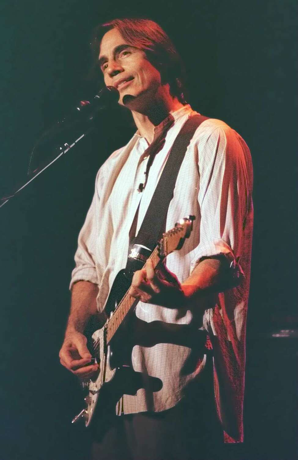 Jackson Browne performs at SPAC, August 4, 1996.
