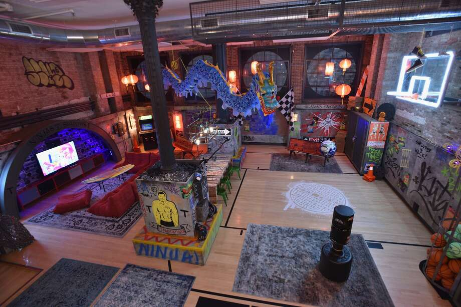 "As a way to promote the June 3 release of Teenage Mutant Ninja Turtles: Out of the Shadows, Viacom has partnered with AirBnB to give fans a chance to stay in the group's secret New York lair. But the ninja turtles won't be at the lair, however. They have ""evil to fight, battles to win,"" according to the AirBnB listing.Courtesy/Viacom"