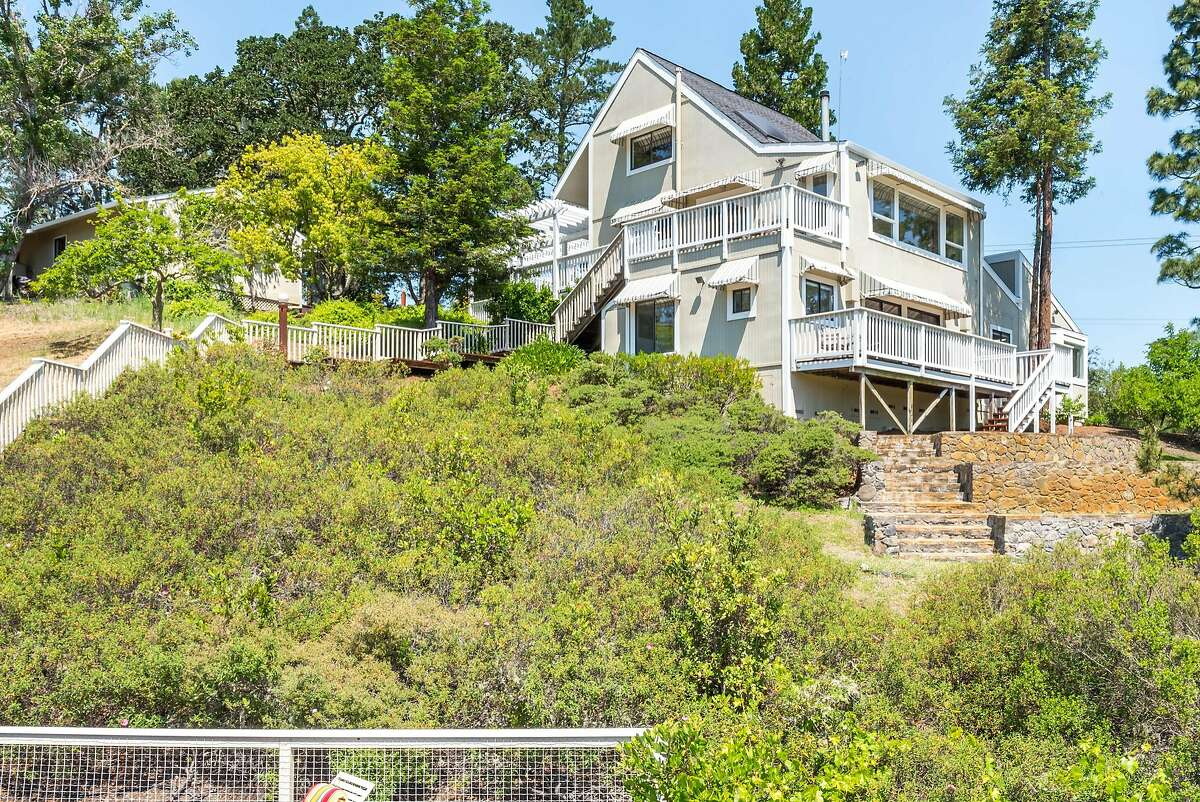 The three bedroom Wine Country home was built in 1977.