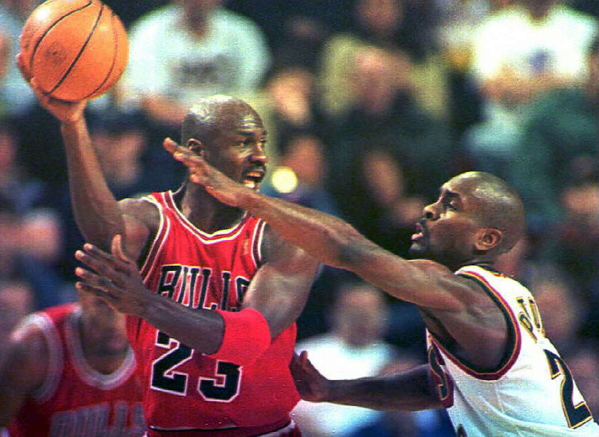 PG Gary Payton 1995-96 stats: 81 games played (81 starts), 19.3 points, 4.2 rebounds, 7.5 assists, 2.9 steals per gameProbably the most iconic player in Sonics history,