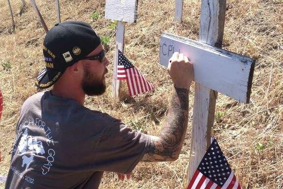On Memorial Day, KTVU anchor Frank Somervillevisited the Lafayette war memorial.