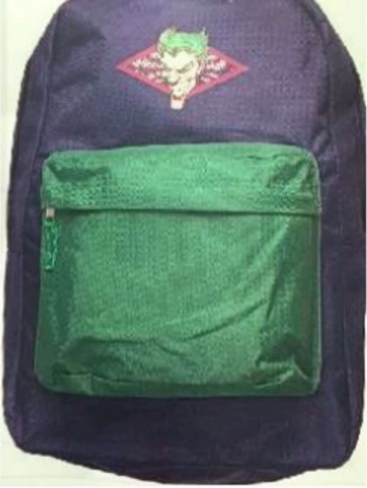 The Solano County Sheriff's Office put out a picture of a backpack similar to the one Pearl Pinson, 15, was wearing when she was violently abducted on May 25 in Vallejo.