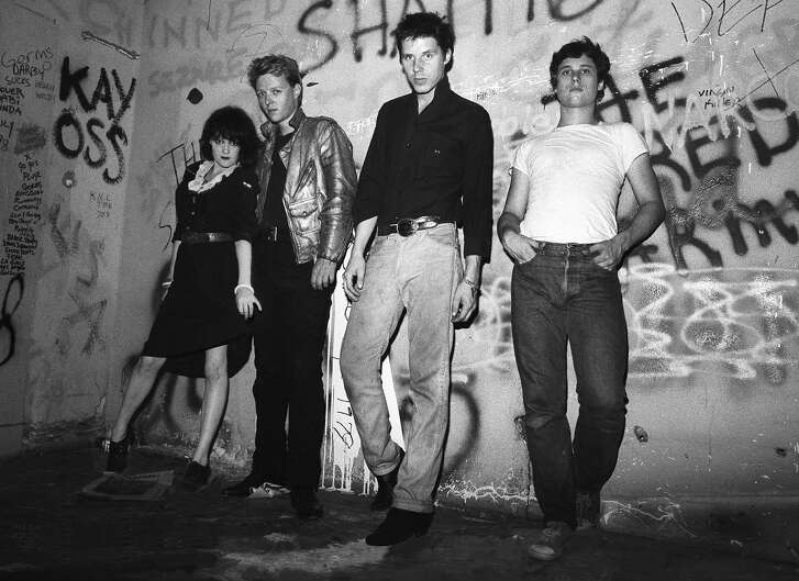 The band X in the 1980s.
