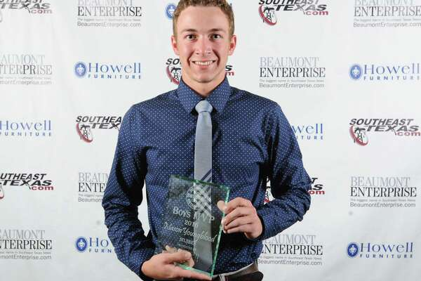 Silsbee's Mason Youngblood at the Beaumont Enterprise Super Gold 2016 Spring Sports Banquet presented by Howell Furniture. The annual event honors area athletes.  Photo taken Wednesday, May 25, 2016 Guiseppe Barranco/The Enterprise
