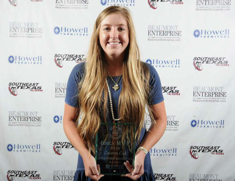 Little Cypress-Mauriceville's Lauren Cox, 2016 Beaumont Enterprise Super Gold Girls Golf MVP, presented by Howell Furniture. | Guiseppe Barranco/The Enterprise Photo: Guiseppe Barranco, Photo Editor
