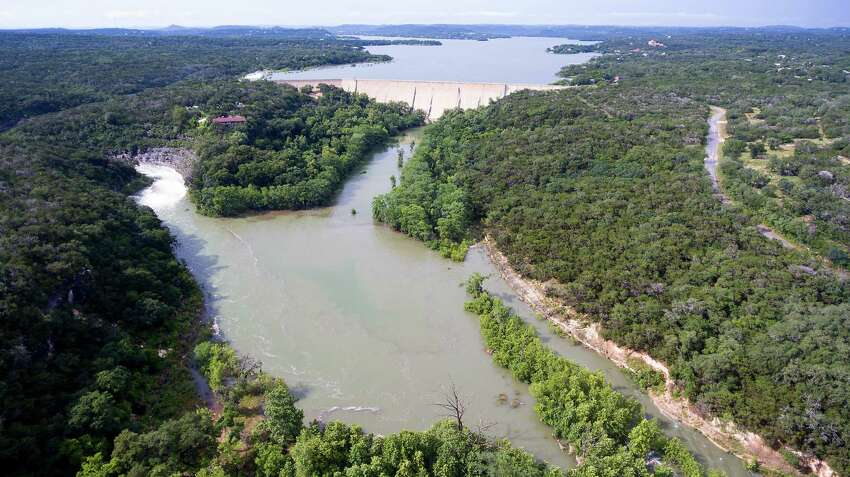 Take a boat and go for a swim in the fully restored Medina Lake. For the first time in a long while Medina Lake is brimming at 100 percent capacity.SEE:Drone footage shows completely full Medina Lake Texans have 'been looking forward to' seeing