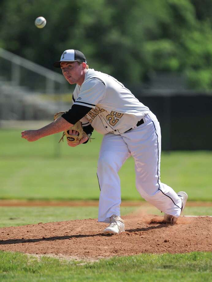 First round baseball action of the CIAC Championship Tournament between the Norwalk Bears and the Trumbull Eagles at Trumbull High School on May 31, 2016 in Trumbull, Connecticut. Photo: Gregory Vasil / For Hearst Connecticut Media / Connecticut Post Freelance