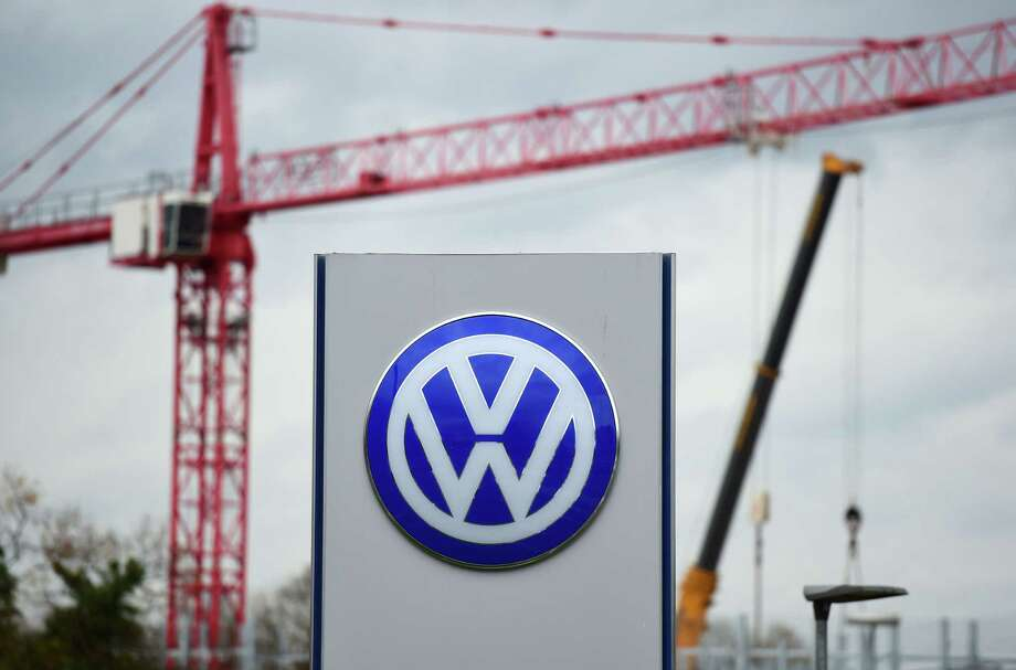 Construction is going on near Volkswagen headquarters in Wolfsburg, Germany. Photo: JOHN MACDOUGALL, Staff / AFP or licensors