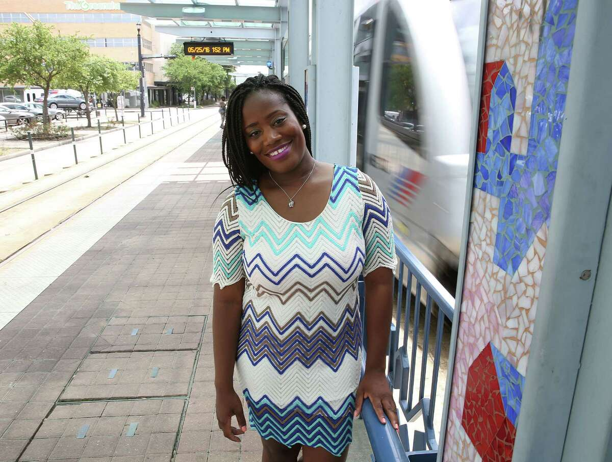 Deidre Mathis is hoping to open a hostel in Houston, near McGowen Street, near the Red Line. Photographed on Wednesday, May 25, 2016, in Houston. ( Elizabeth Conley / Houston Chronicle )