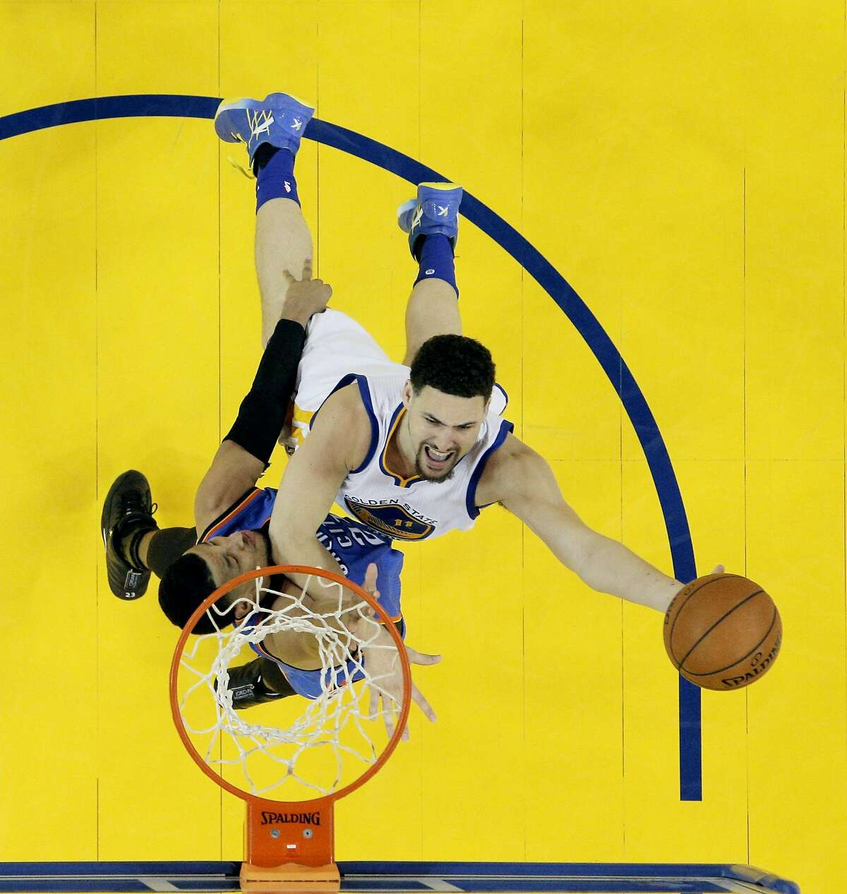 SHOOTING GUARD: He won't tell you about it, but Klay Thompson has been the most consistent player in the NBA playoffs and possibly the best. He won matchups with James Harden, Damian Lillard and Russell Westbrook, and he could complete quite a run against Irving.