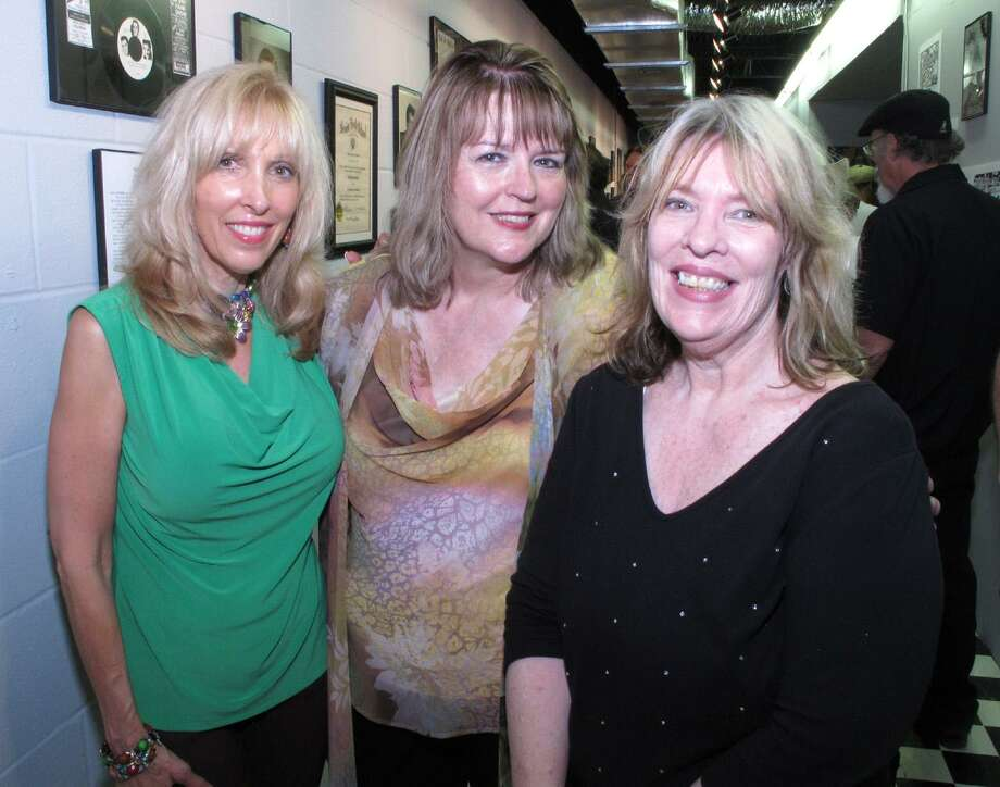 "Friend Neka Scarbrough-Jenkins, from left, and museum co-founders Michael Ann Coker and Margaret Moser gather at the ""Texas Me: Doug Sahm's San Antonio Years"" exhibit at the South Texas Popular Culture Center in May 2012. Photo: Express-News File Photo / SAN ANTONIO EXPRESS-NEWS"