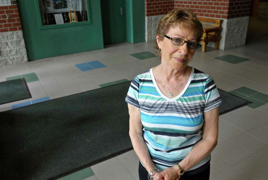 Cecilia Barberio is retiring after 35 years working in the New Milford High School office. Friday, May 27, 2016, in New Milford, Conn. Photo: H John Voorhees III / Hearst Connecticut Media / The News-Times