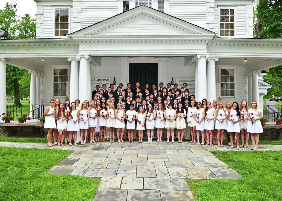 Seventy-nine students graduated Monday, May 30, from The Gunnery school in Washington. Photo: Contributed Photo