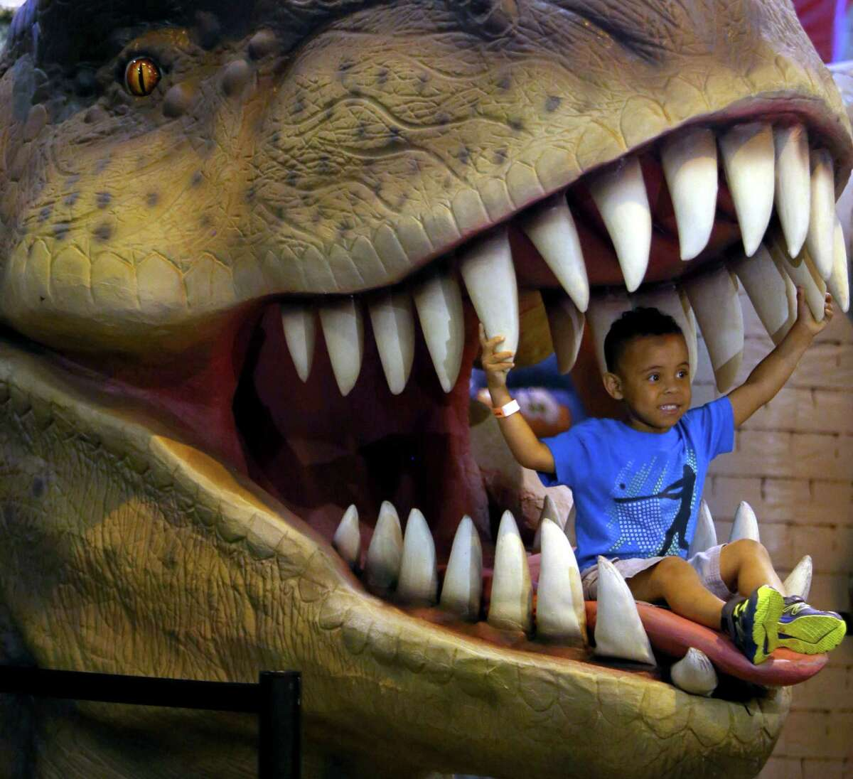 """""""Discover the Dinosaurs"""" offers larger-than-life fun for the entire family."""