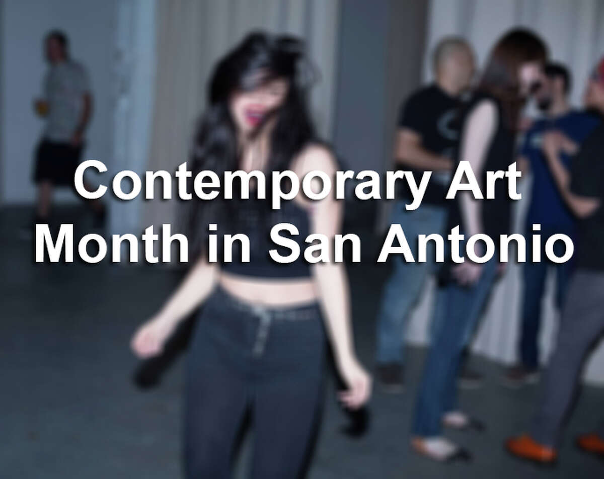 Click through the gallery to see photos from the kick off party of Contemporary Art Month in San Antonio, March 2016.