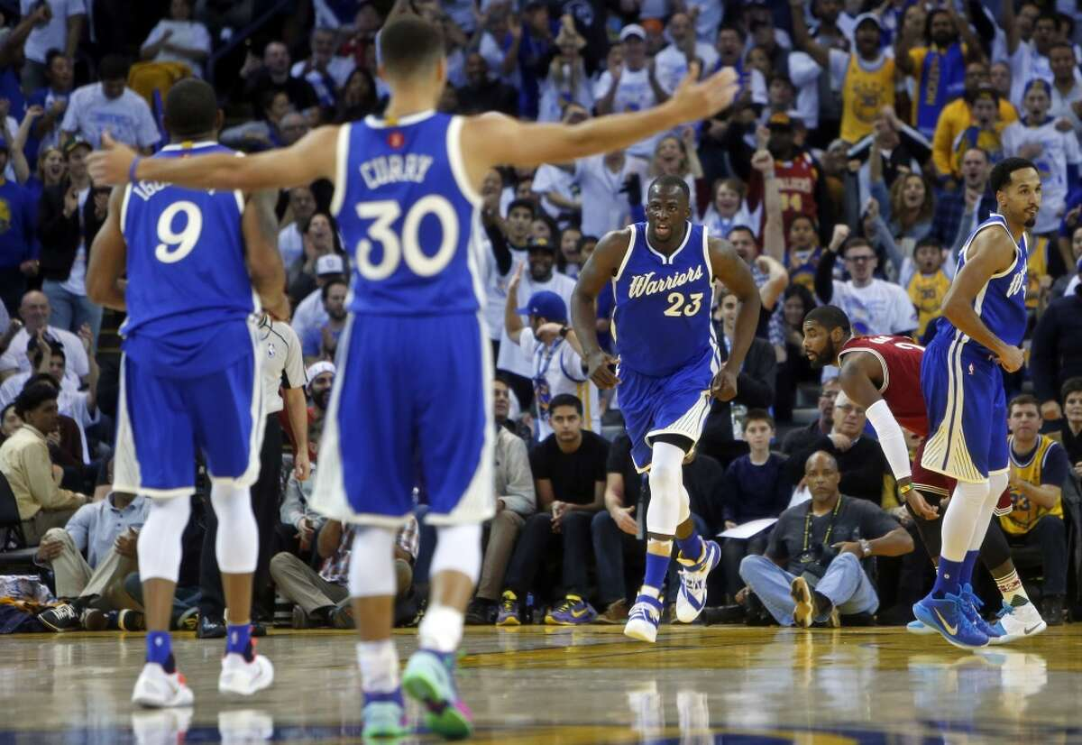2. In two games during the regular season, the Warriors flattened Cleveland, winning by an average of 20 points a game.