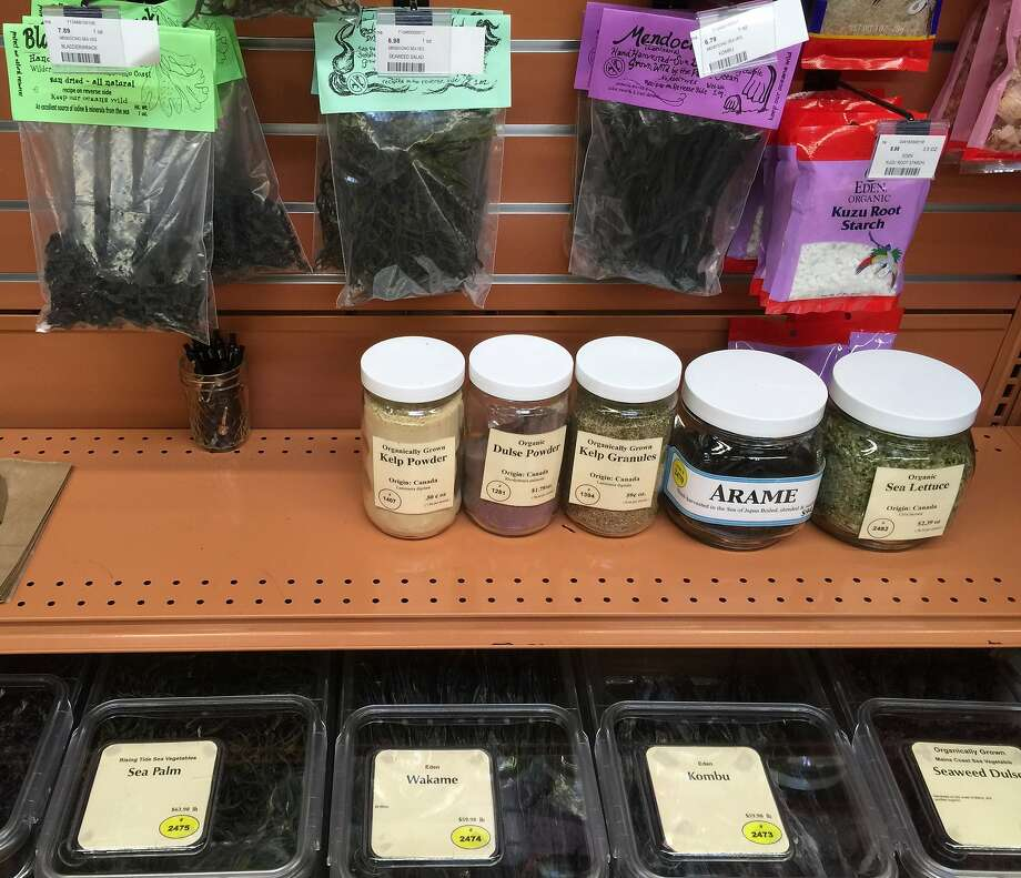 Goods at Good Earth grocery store in Mill Valley. Photo: Amanda Gold/The Chronicle