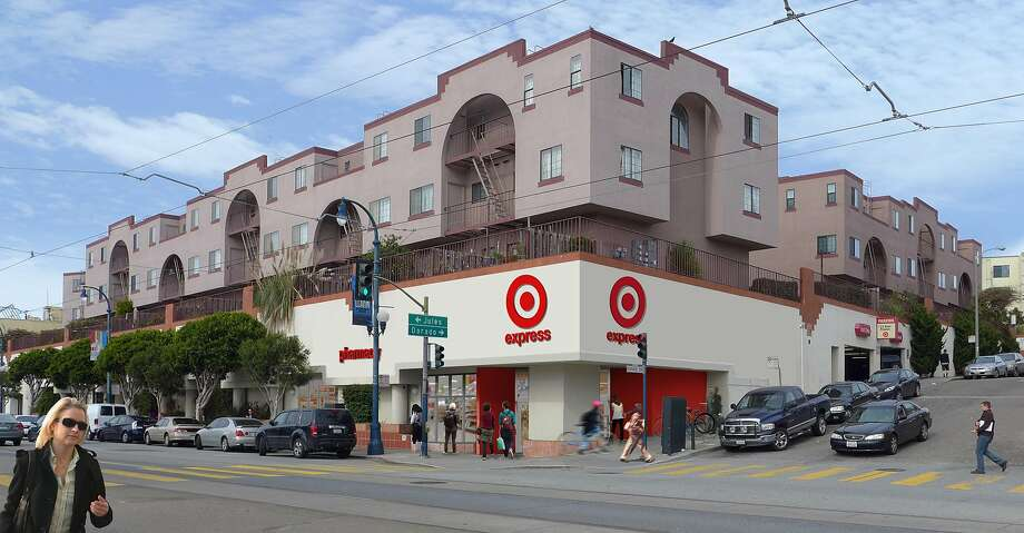 The TargetExpress store on Ocean Avenue. Photo: Target Corporation