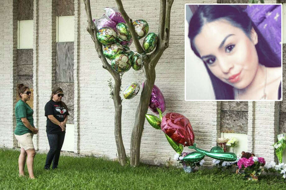 The mother of Karen Perez, who was raped and killed in an abandoned apartment in South Houston on May 27, 2016, is suing the owners the apartments for failing to provide security there and deter crime, according to court documents filed in the 295th State District Court on July 14, 2016. Photo: Brett Coomer / Houston Chronicle