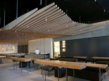 A view of In Situ restaurant at SFMOMA on Monday, May 30, 2016 in San Francisco, Calif.