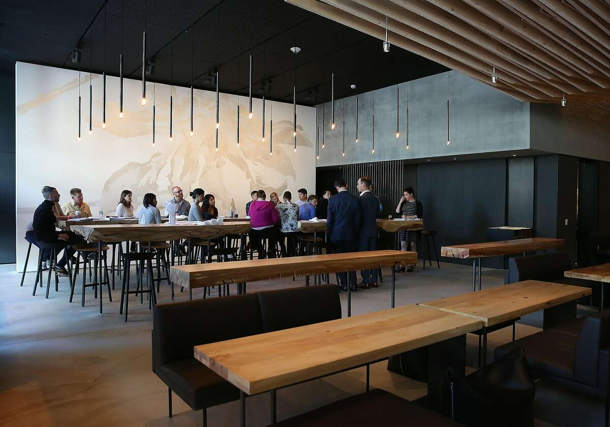 A view of In Situ restaurant at SFMOMA on Monday, May 30, 2016 in San Francisco, Calif., as service staff is being trained.