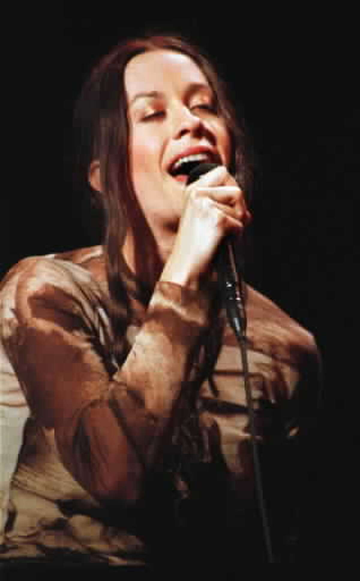 Alanis Morissette returns Sept. 5, 2021, to the Saratoga Performing Arts Center. (File photo.)