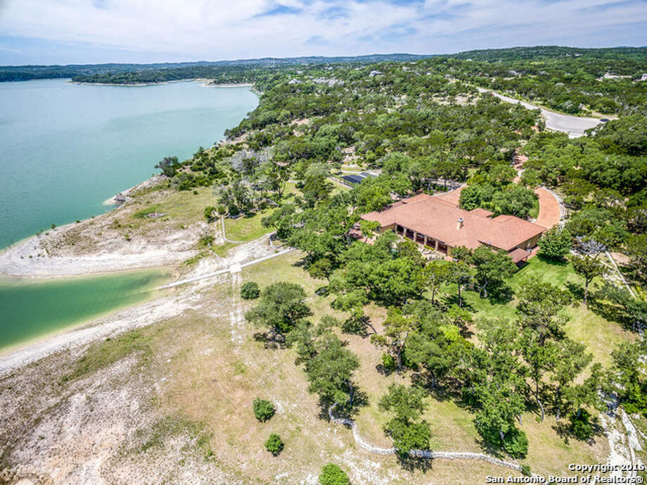 1. 454 Sidney Shores Drive: $1.45 million4 beds / 4.5 baths / 4,553 square feetFeatures: Located on two acres, travertine floors, entertainment bar, gourmet kitchen with glass backsplash, two gazebos with fire pits, private pool and spa Photo: Courtesy, Denise Graves Via MySA.com