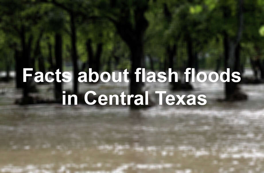 "The Texas hill country is the most flash flood-prone region in the United States, according to the National Weather Service. Click ahead for 6 fast facts on why the area is known as ""Flash Flood Alley."" Photo: Kin Man Hui"